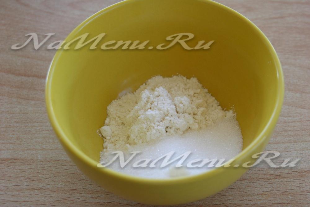 рецепт крема для заварных пирожных видео