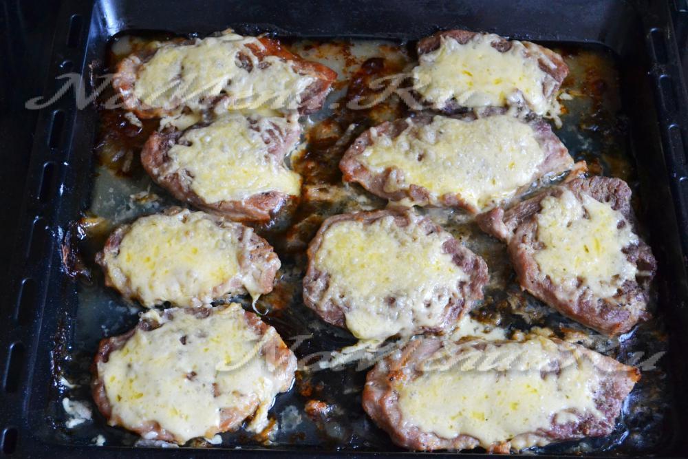 Рецепты отбивных из свинины в духовке с пошаговым рецептом