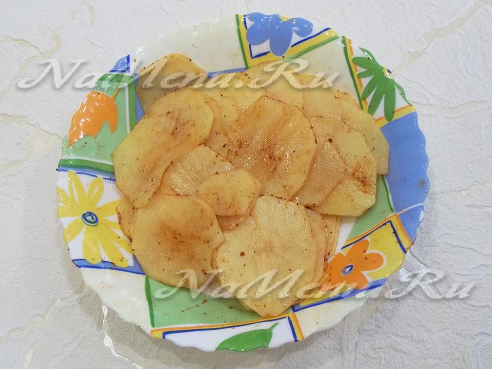Картофельные чипсы в домашних условиях 952