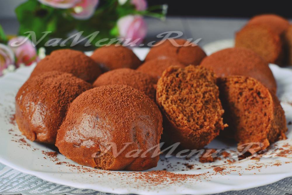 Шоколадные пряники заварные рецепт 106