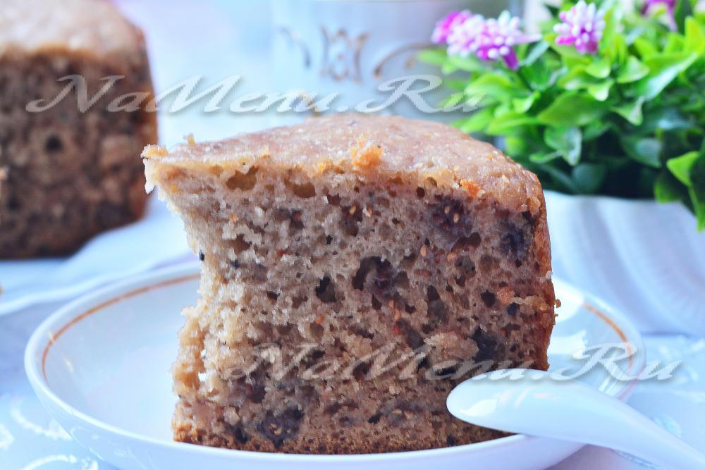 рецепт пирога в мультиварке с вареньем смородины