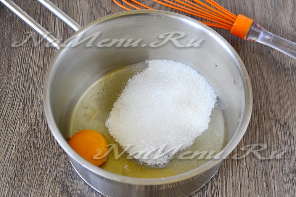 отразить бухучете заварной крем из яиц требования