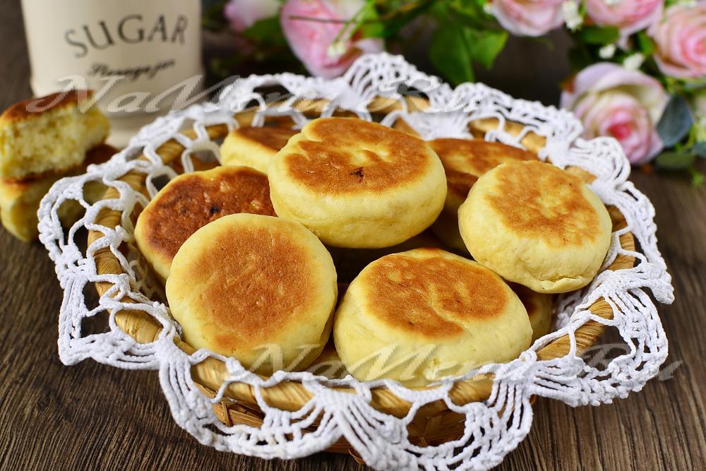 Печенье жареное на сковороде рецепт фото