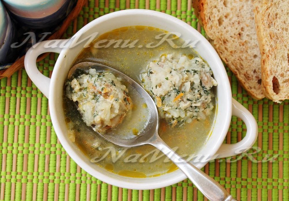 Суп с рисом пошаговое 183