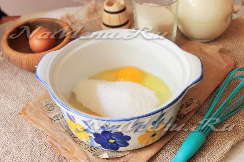 Как сделать крем с яйцами