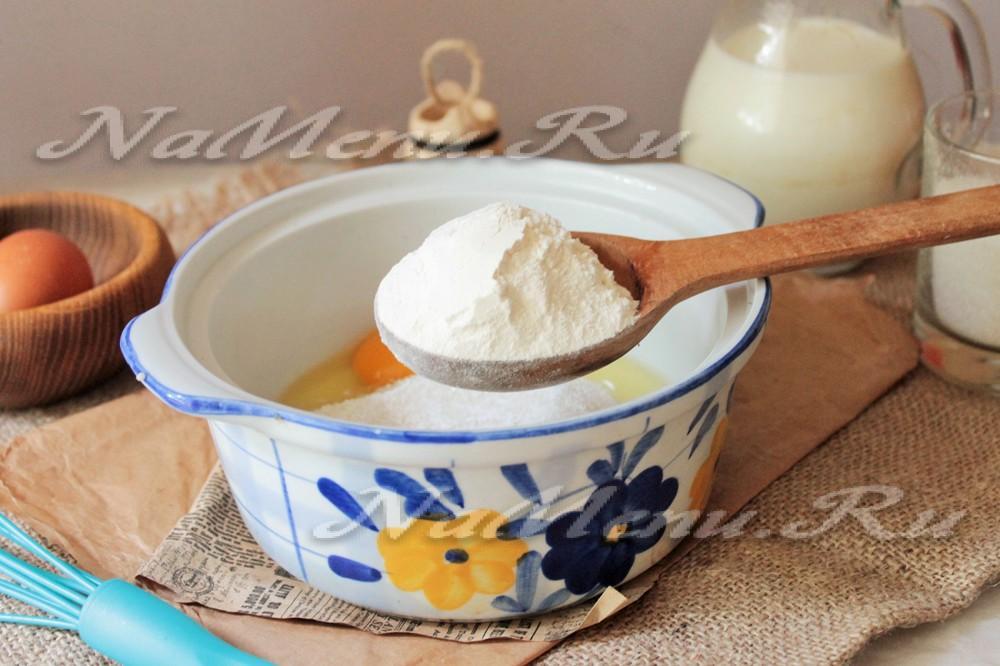 заварной крем для наполеона пошаговый фото рецепт