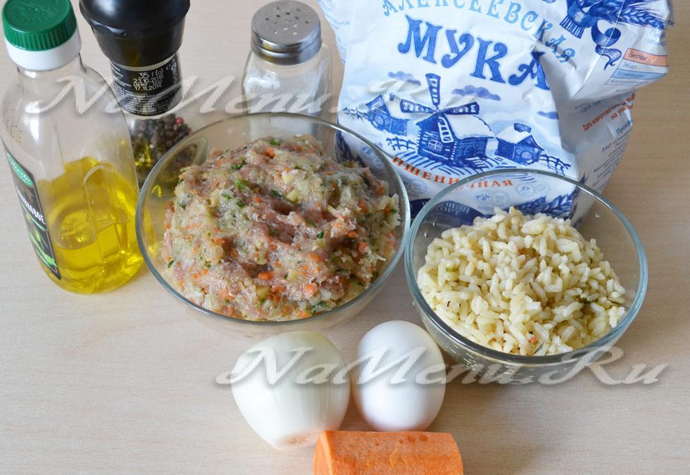 приготовление ежиков с рисом в духовке рецепт