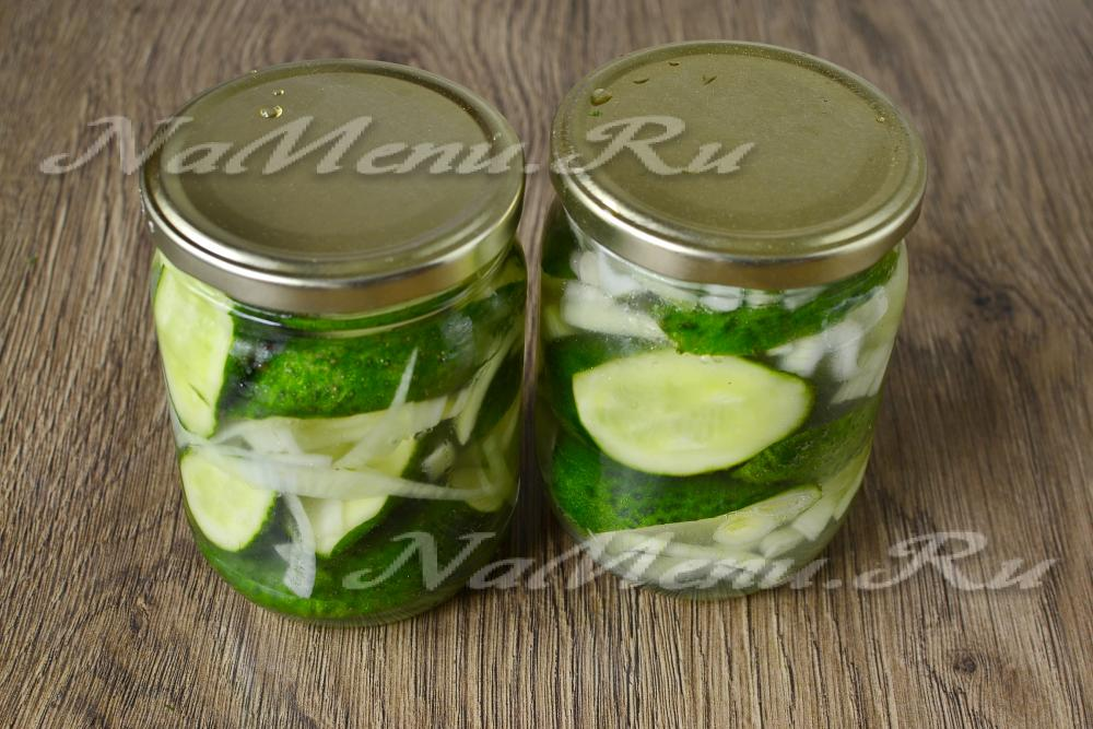 Маринад для огурцов рецепт на 1 литр