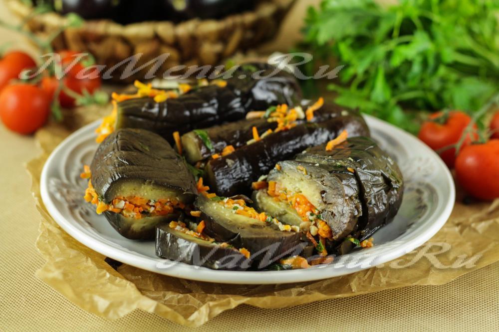 Квашеные баклажаны с овощами рецепт пошагово