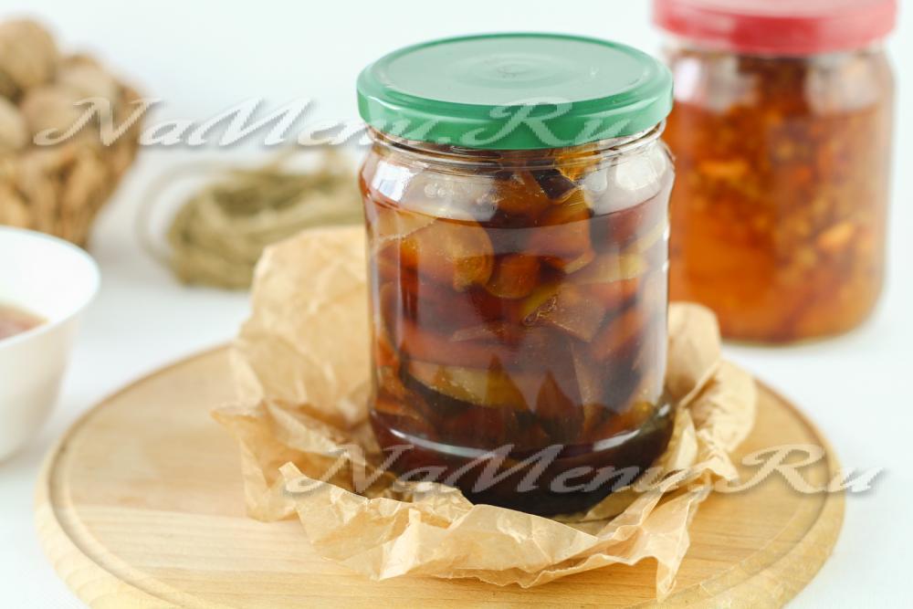Яблочное варенье дольками с корицей рецепт