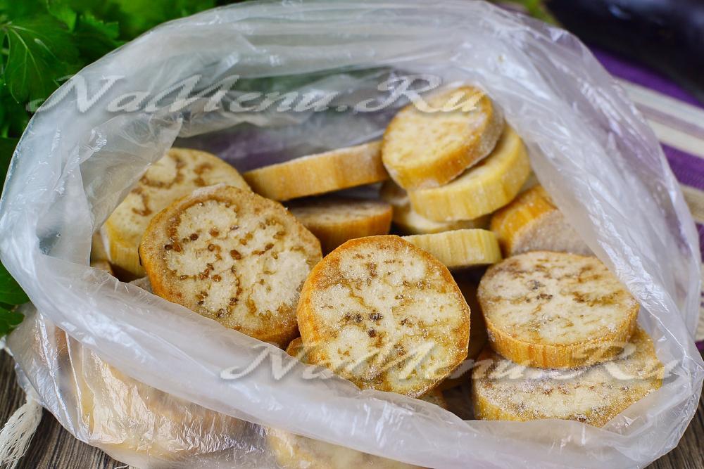 баклажаны на зиму заморозка рецепт фото
