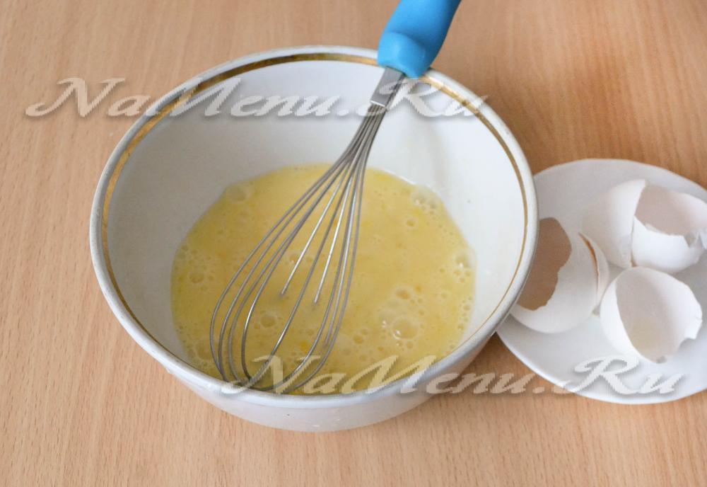 блинов тесто для на сухом молоке рецепт