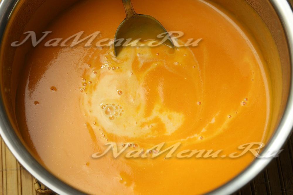 Тыквенный суп пюре рецепт со сливками и курицей с пошагово