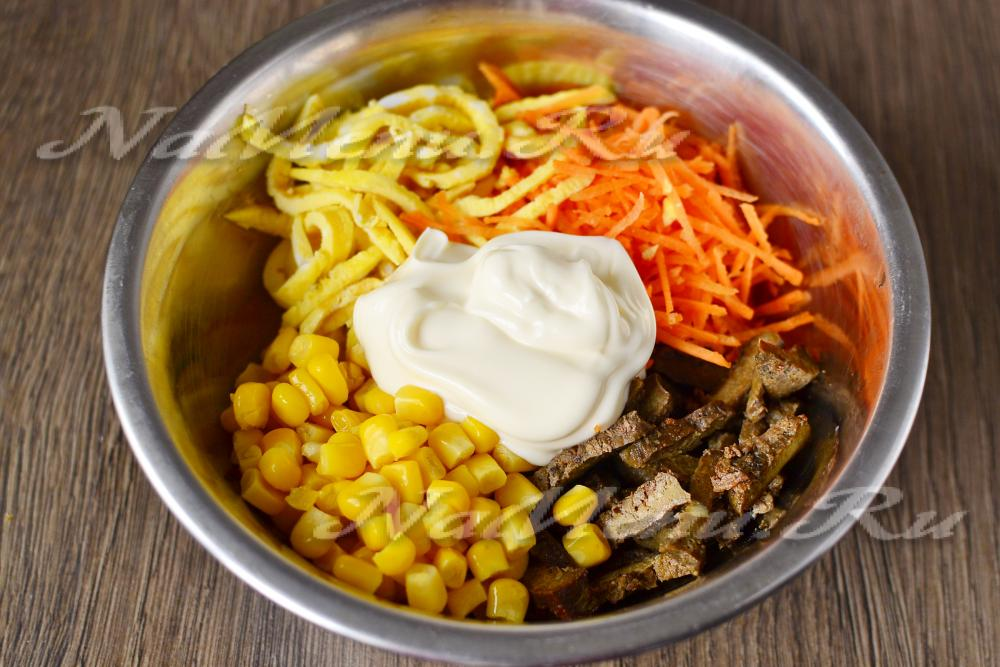 Рецепты закусок, Корейская кухня, рецепты с фото на ...