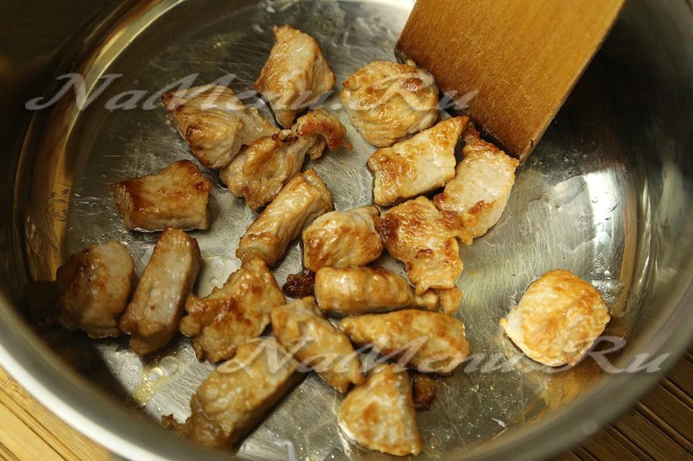Мясо с гречкой в казане рецепт 188