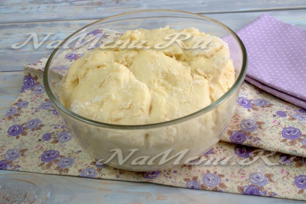 Сдобное тесто на майонезе для булочек рецепт 93