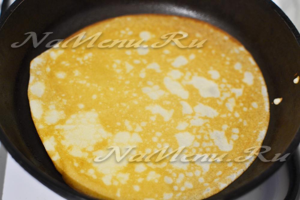 Блинчики на скисшем молоке рецепт пошагово с дырочками