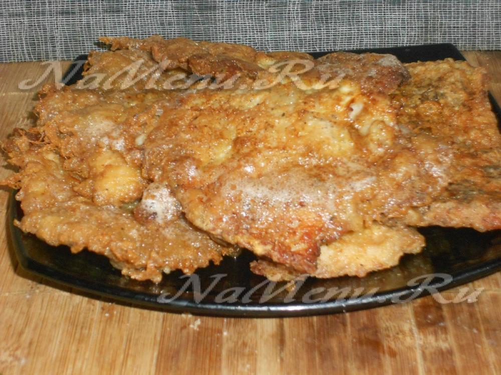 как приготовить вкусные отбивные из свинины на сковороде с фото