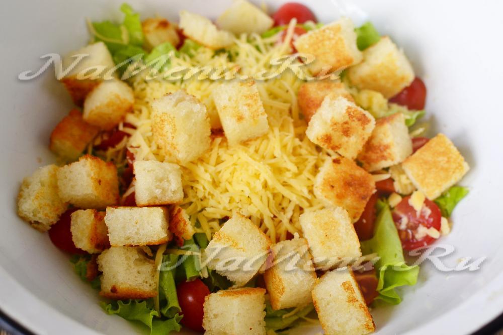 салат с курицей в домашних условиях рецепт с фото с капустой