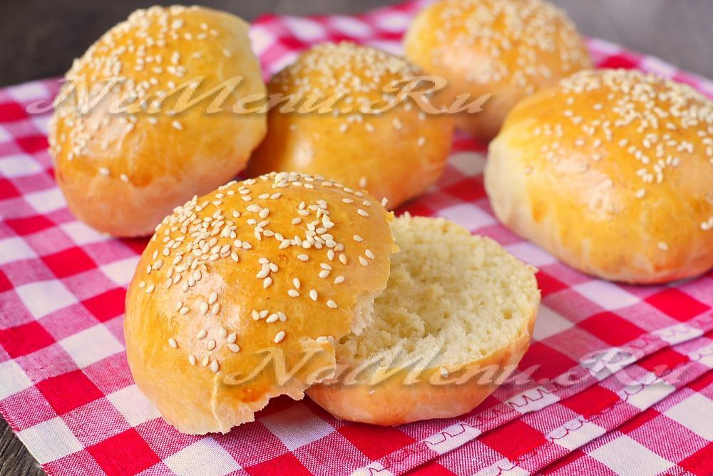 Булочки гамбургер в домашних условиях рецепт фото 94