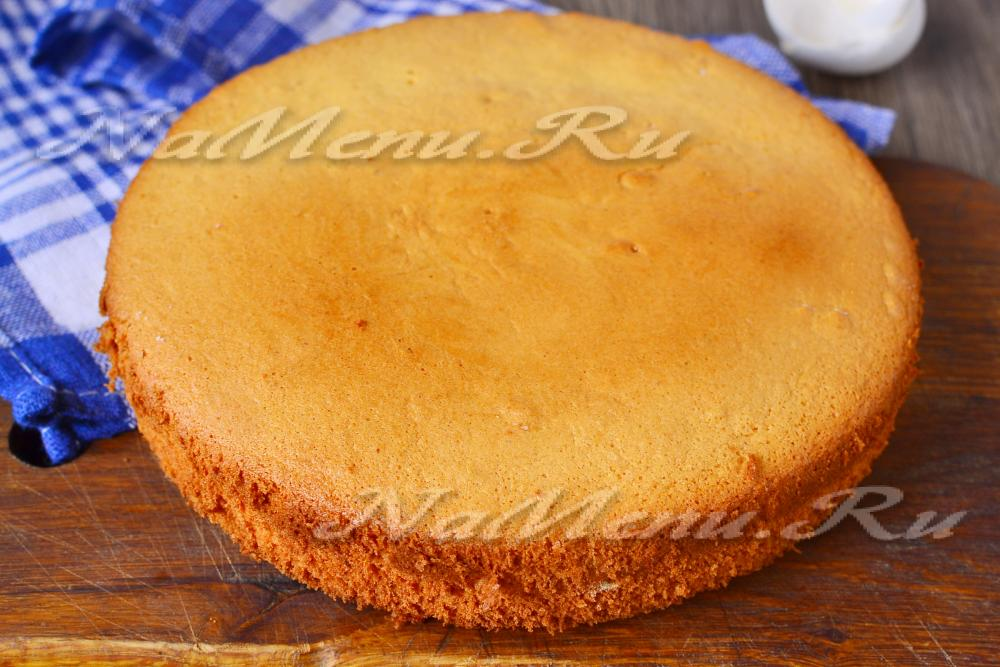 Бисквиты простые в домашних условиях с фото