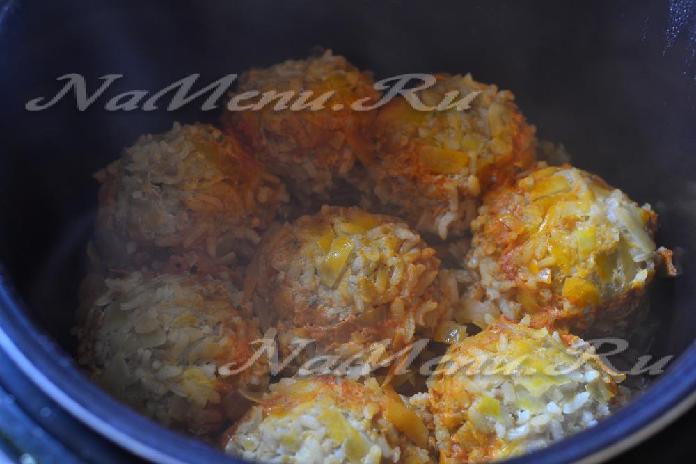 Ленивые голубцы классический рецепт с фото