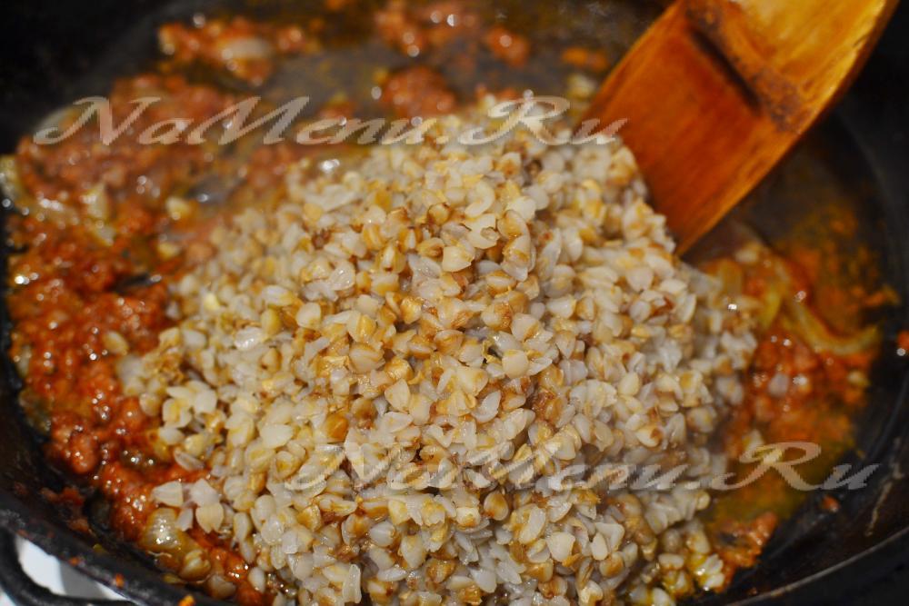 Как приготовить гречку с тушенкой пошаговый рецепт