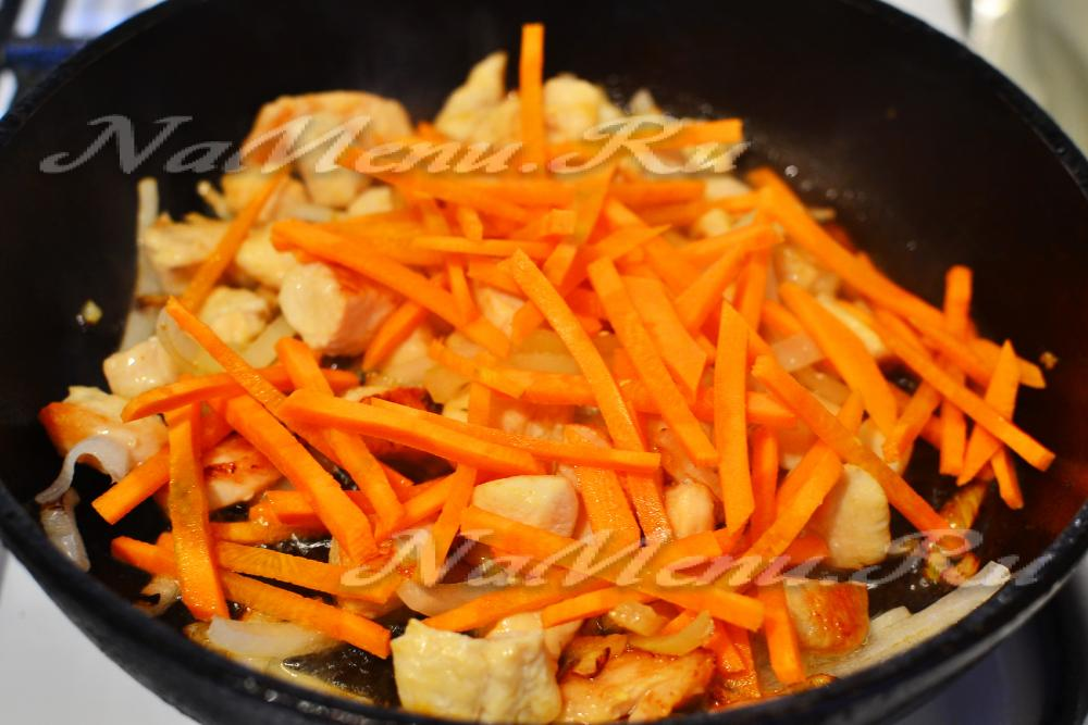 Как сварить рассыпчатый плов с курицей в кастрюле пошаговый рецепт с
