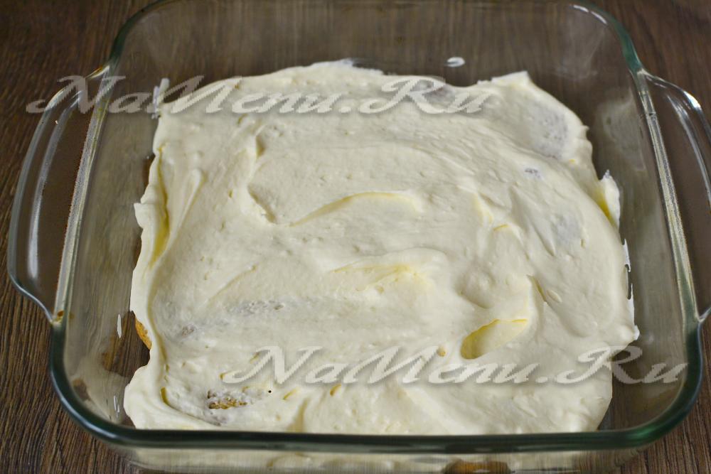 Торт с савоярди рецепт пошагово в домашних условиях