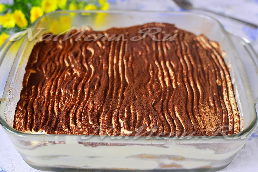 Торт тирамису рецепт с фото пошагово классический