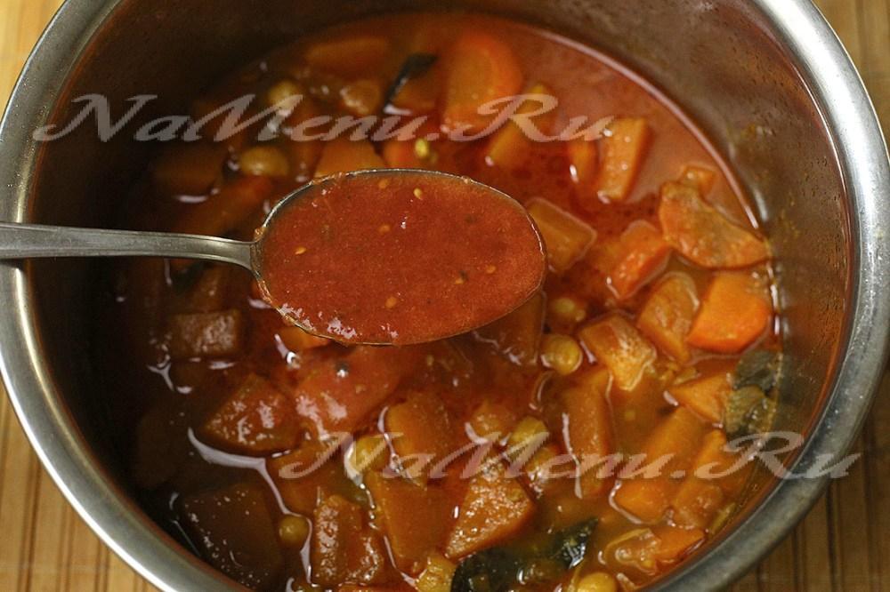 тыквенный суп с имбирем и карри рецепт