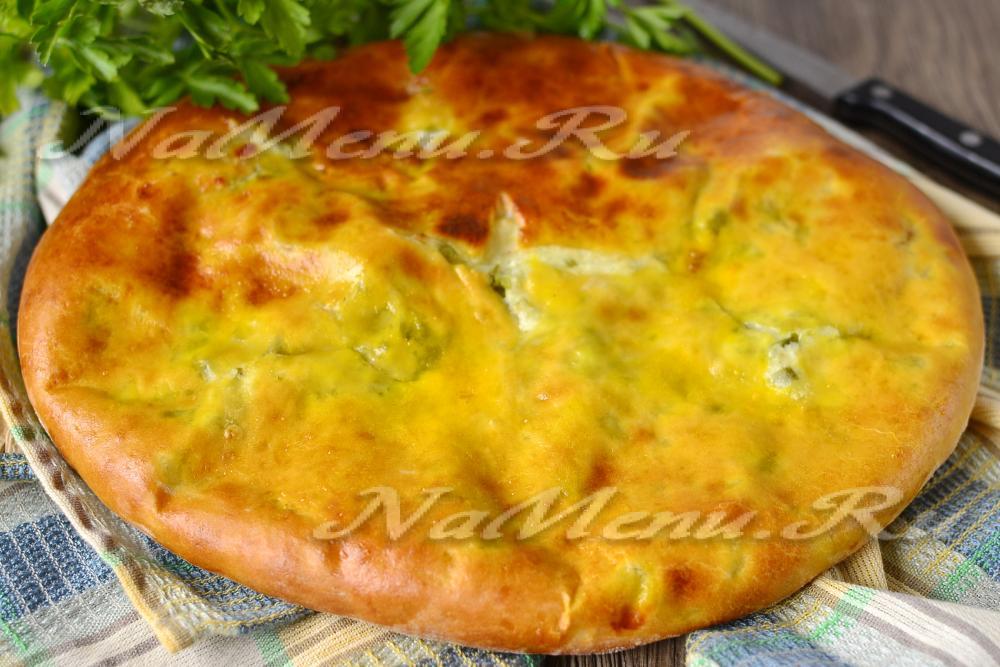 Осетинские пироги зеленью рецепт с
