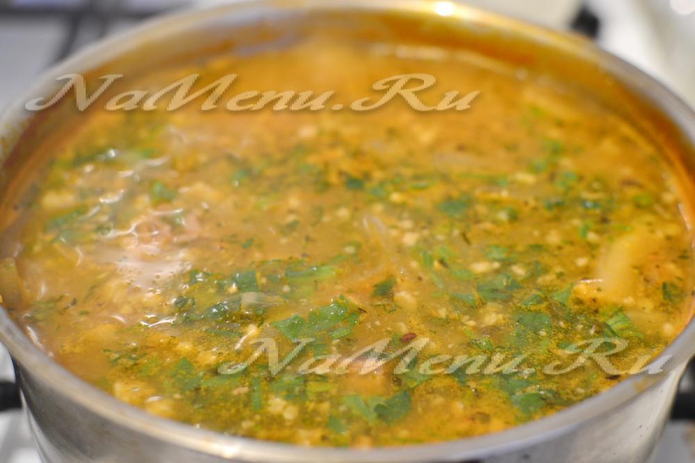 Рецепт супа харчо пошагово с классический рецепт