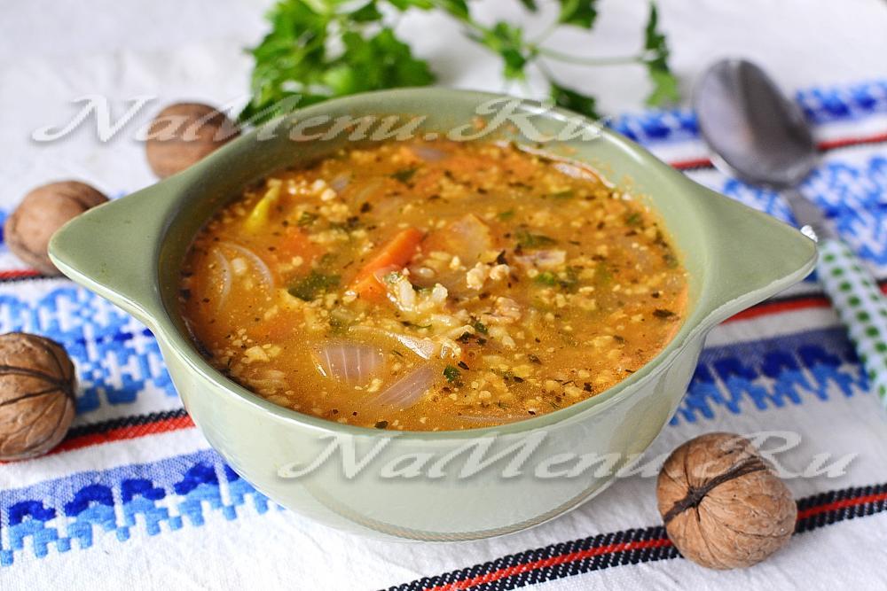 суп харчо рецепт классический пошаговый рецепт с фото
