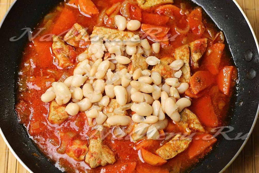 Рецепты салатов с красной фасолью пошагово