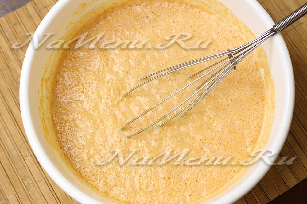 Как сделать из кефира тесто для блинов