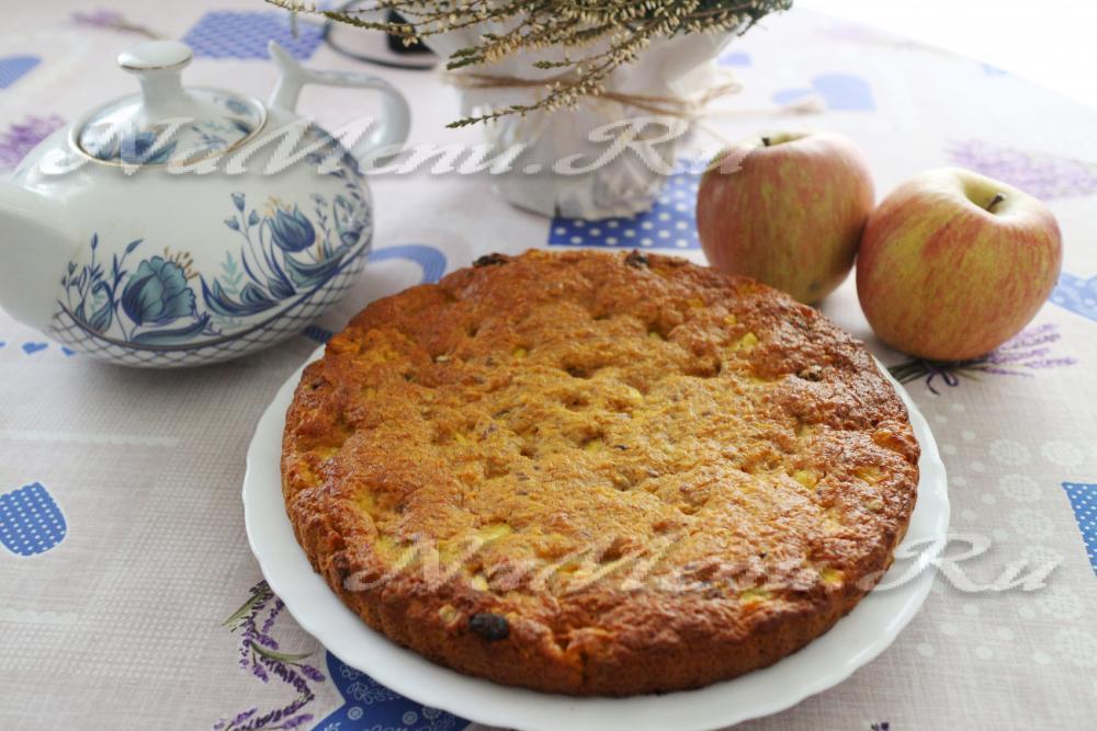 Грушевый пирог рецепт в мультиварке