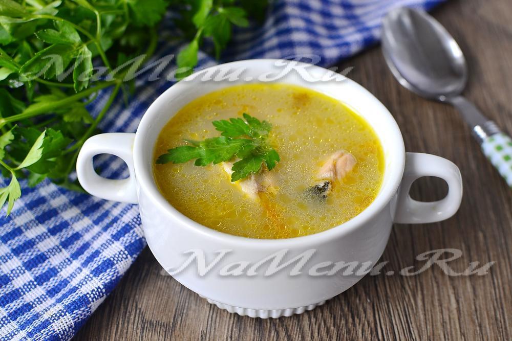 Суп с свежей горбушей рецепт с пошагово