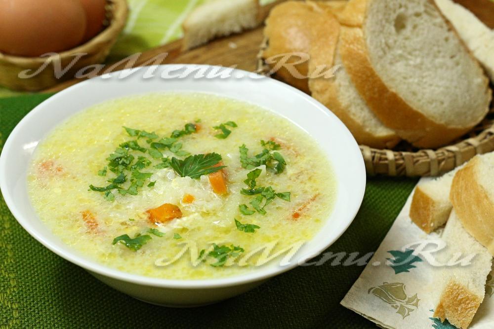 рецепт супа из шампиньонов с корейской марковкой фото