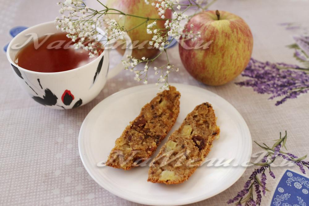 Кекс с яблоками для хлебопечки