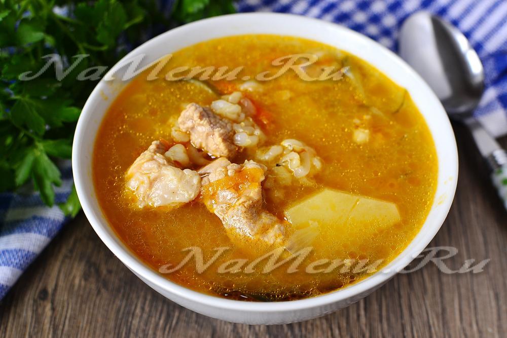 рецепт сайрового супа с перловкой