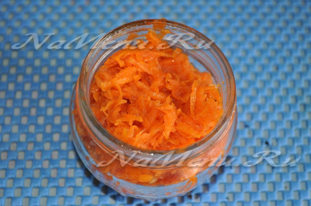 морковная икра рецепт с фото
