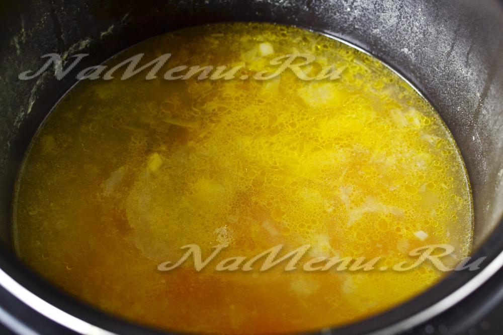 Гороховый суп в мультиварке рецепты с пошаговым