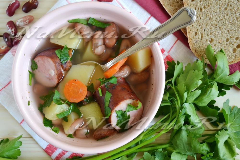 Суп солянка с колбасой рецепт с фото пошагово