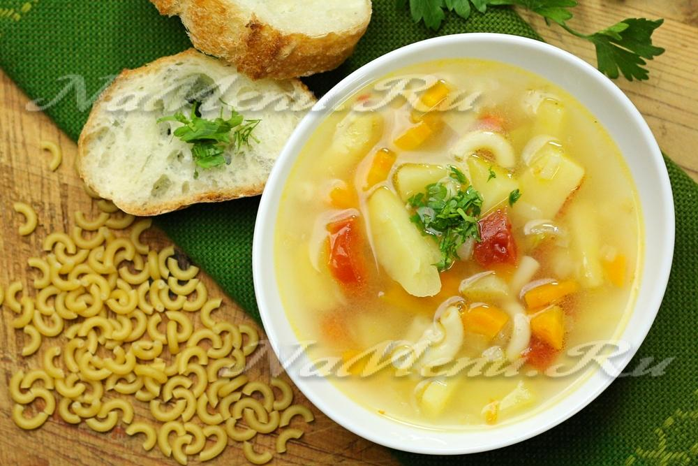 Легкий суп без мяса с фото