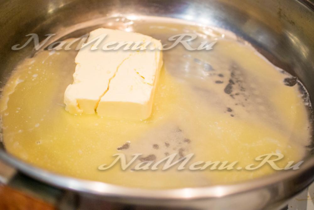 Топленое масло в духовке пошаговый рецепт