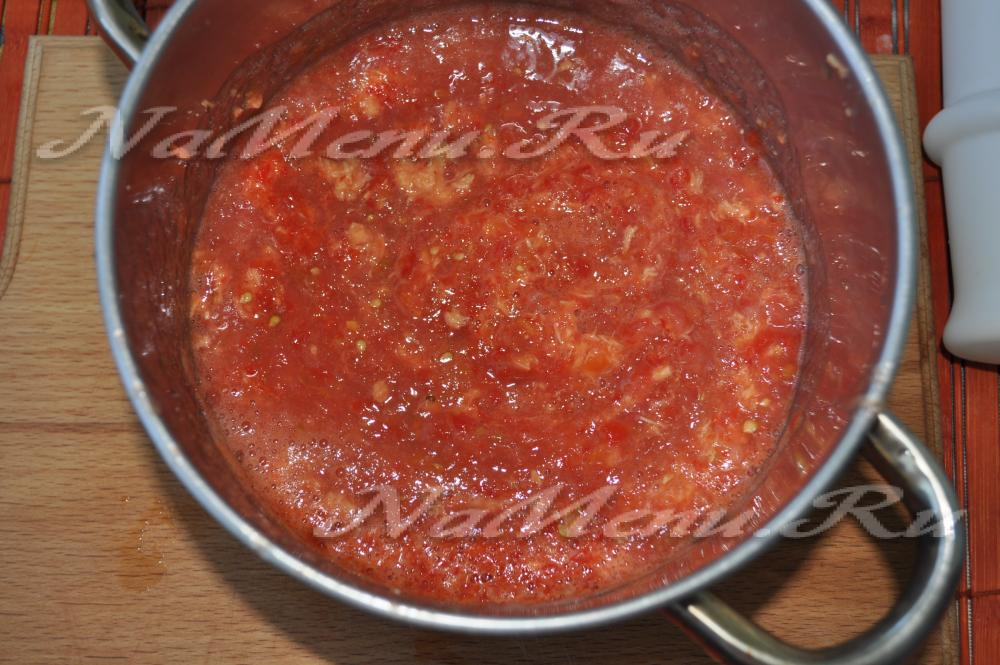 Рецепты аджики из помидоров в домашних условиях 55