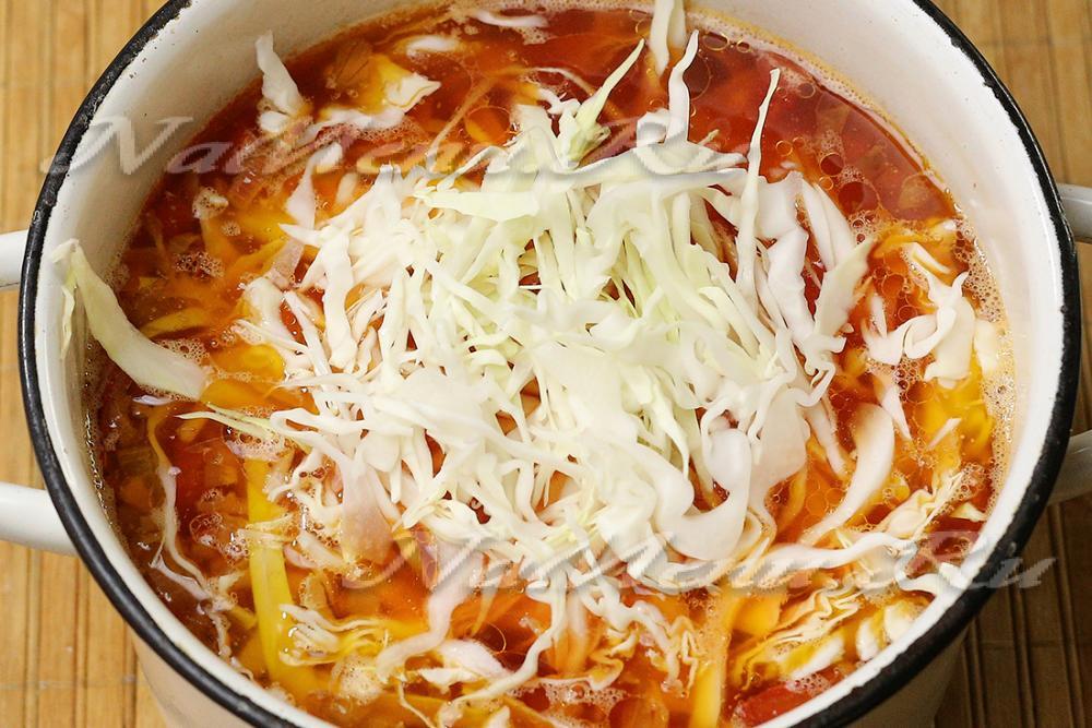 148Рецепт борща из соленой капусты пошагово
