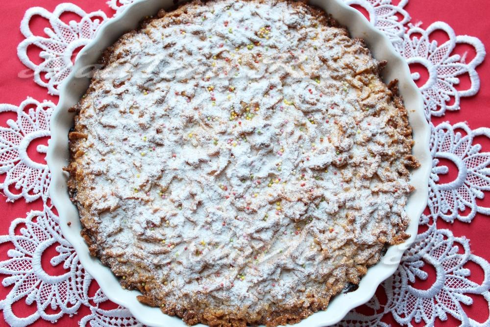 Как приготовить тертый пирог с вареньем рецепт