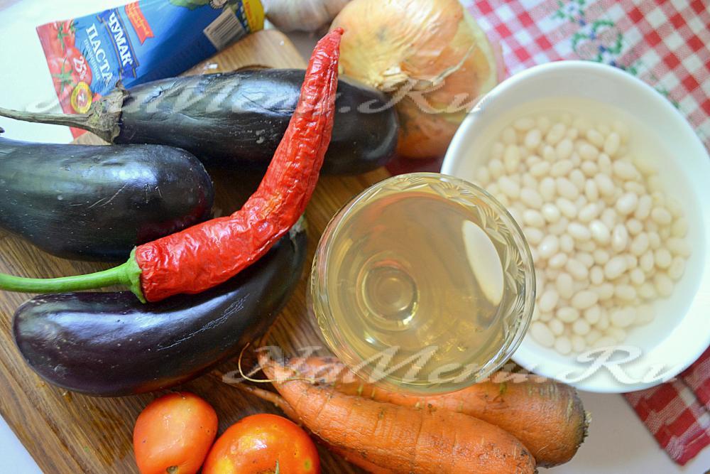 вкусный рецепт салата в зиму из фасоли